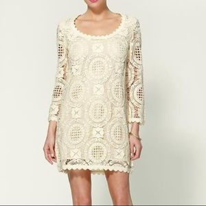 French Connection Lark Rise Lace Dress